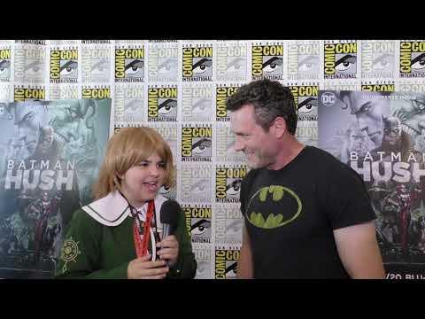 SD Comic-con Batman: Hush Interviews By Calista B.