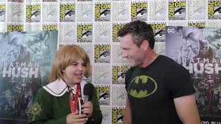 SD Comic-con Batman: Hush Interviews By Calista B.