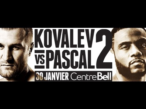 Kovalev vs Pascal Weigh-In LIVE from Montreal