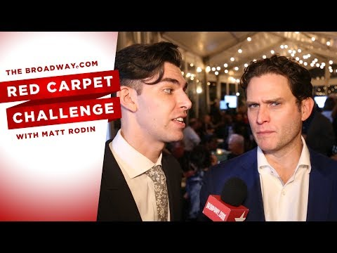 RED CARPET CHALLENGE: JUNK with Steven Pasquale and more!