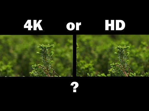 Shooting 4k or HD - Pros and Cons