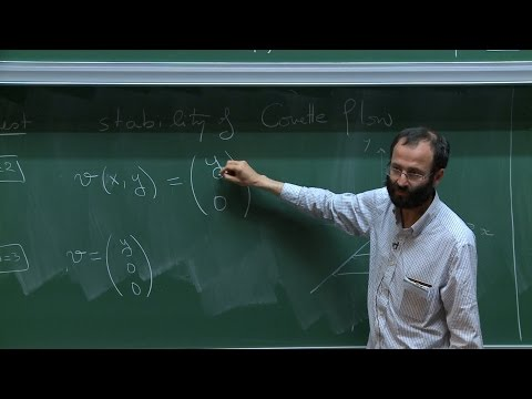 Nader MASMOUDI - 1/3 Stability of the 3D Couette Flow