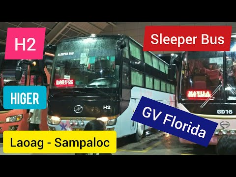 GV Florida Sleeper Bus Sampaloc Trip