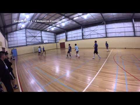 Futsal Fever Mulgrave Season 4 Week 8: Equipo Guapo vs Melbourne Evertonians