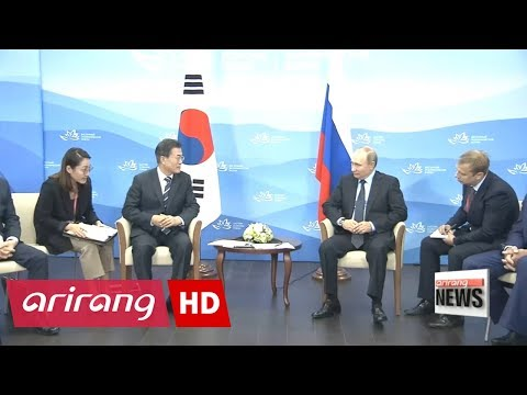 Presidents of South Korea, Russia 'similar yet different' approach to North Korea problem