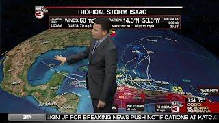Daniel's Wednesday Weather Forecast 9/12/18