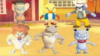 tom and jerry war of the whiskers ✦ funny cartoon game for kids ✦ puppy ✦ tom ✦ chicken