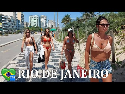 RIO DE JANEIRO - BRAZIL 🇧🇷 From Ipanema To Copacabana Beach - January 2021 [FULL TOUR]