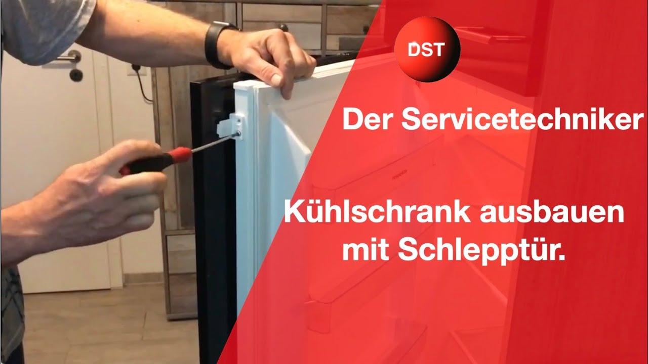 Aeg Kühlschrank Festtür Montage : Ausbau eines kühlschrankes kühlkombination youtube