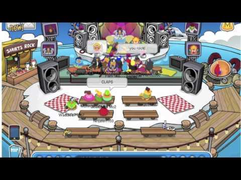 Club Penguin Music Jam 2011 - Penguin Band At Iceberg