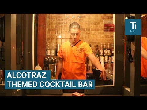 We tried London's controversial prison-themed cocktail bar