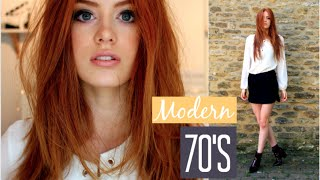 One of MsRosieBea's most viewed videos: 70's Look | Makeup, Hair & Outfit | MsRosieBea