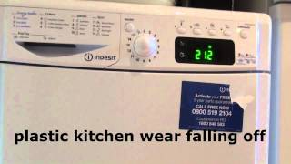 Indesit Advance IDCE8450 BH Dryer : Cotton Standard cycle B energy (Full cycle)