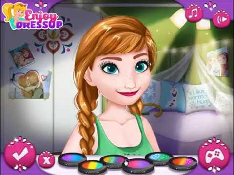 Disney Frozen Video Game - Modern Frozen Sisters - Cutezee