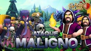 Ataque Maligno en Clash of Clans | RaulCoCGamer
