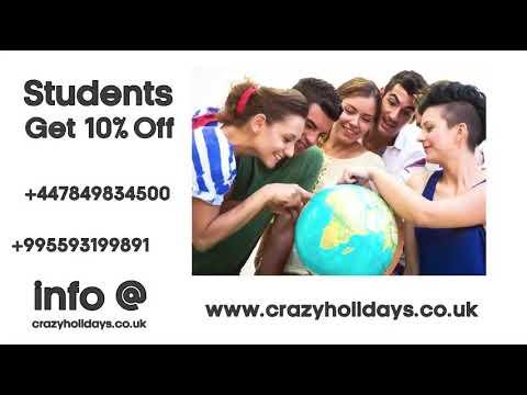 Crazy Holidays - Student/Discounts