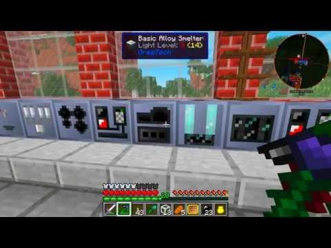Industrial Rotation Beta 1, Episode 7 Gregtech Ore Refining