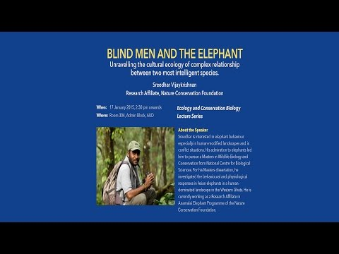 Sreedhar Vijaykrishnan - Blind Men and the Elephant