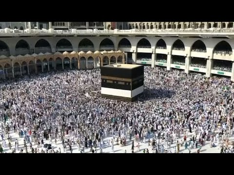 Hajj pilgrimage is underway in Saudi Arabia