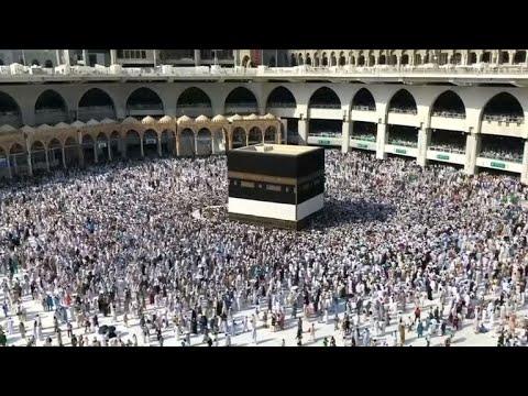 Hajj pilgrimage is underway in Saudi Arabia