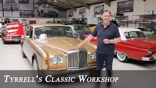 Bentley T2 and Turbo R - A Fond Farewell to the Big V8 | Tyrrell's Classic Workshop