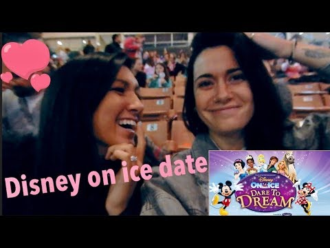DISNEY ON ICE DATE | VLOG (anniversary/late christmas gift)