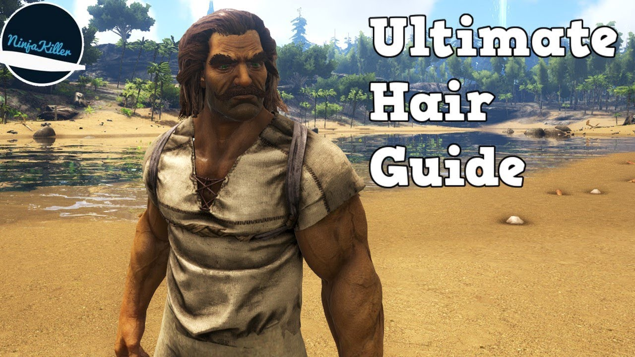 How to Unlock every Hair and Facial style in Ark Survival Evolved Guide as  well as everything Hair