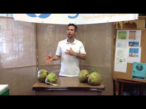 Organic Young Green Coconuts from Florida for pure coconut water fast