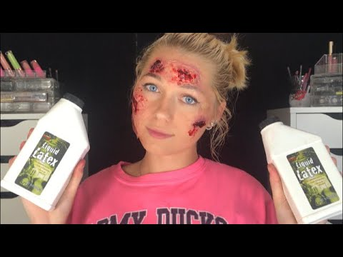 SFX BASICS ALL ABOUT LIQUID LATEX! Pros, cons, how to make prosthetics