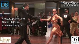 Comp Crawl with DanceBeat! Sponsored by DBDC! London Ball 2017 Amateur Latin!