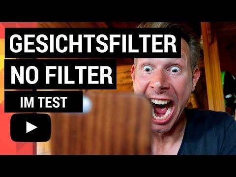 DIE BESTEN GESICHTSFILTER 2017 IM TEST - FACEFILTER INSTAGRAM vers SNAPCHAT vers FACEBOOK!