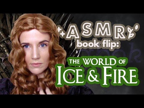 ASMR Book Flip: A World of Ice and Fire