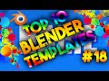 Top 10 Best Blender 2D Intro Templates #18 – FREE DOWNLOADS