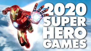 Every Upcoming Marvel And Dc Game 2020