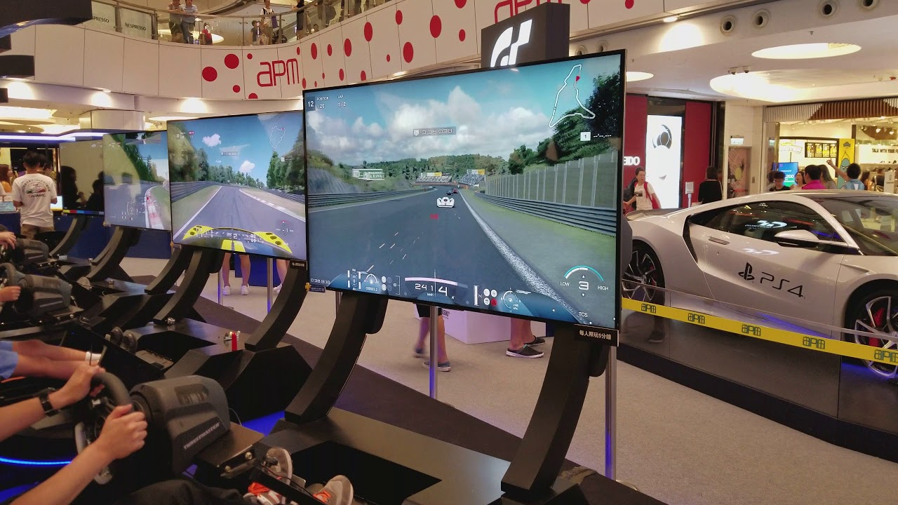 ps4 gran turismo gt sport vr driving simulator event the most realistic vr driving apm 4k. Black Bedroom Furniture Sets. Home Design Ideas