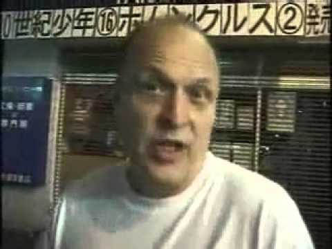 Cliff Taylor in Tokyo, Japan
