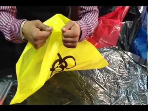 Autoclave Biohazard Bags For Clinical Waste And Garbage Collection