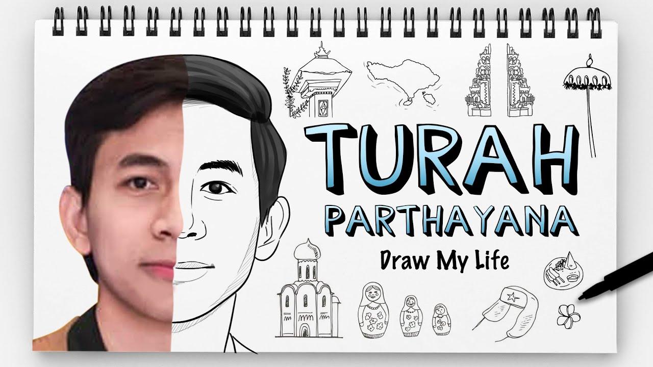 TURAH PARTHAYANA - DRAW MY LIFE INDONESIA