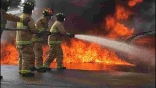 Gas Pump Fire at Gas Station (2019)