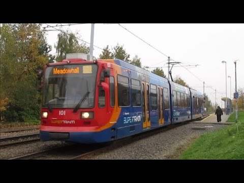 Buses, Trains & Supertram in Sheffield Autumn 2015