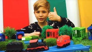Паровозики Чаггингтон устроили ГОНКУ - Игры для детей