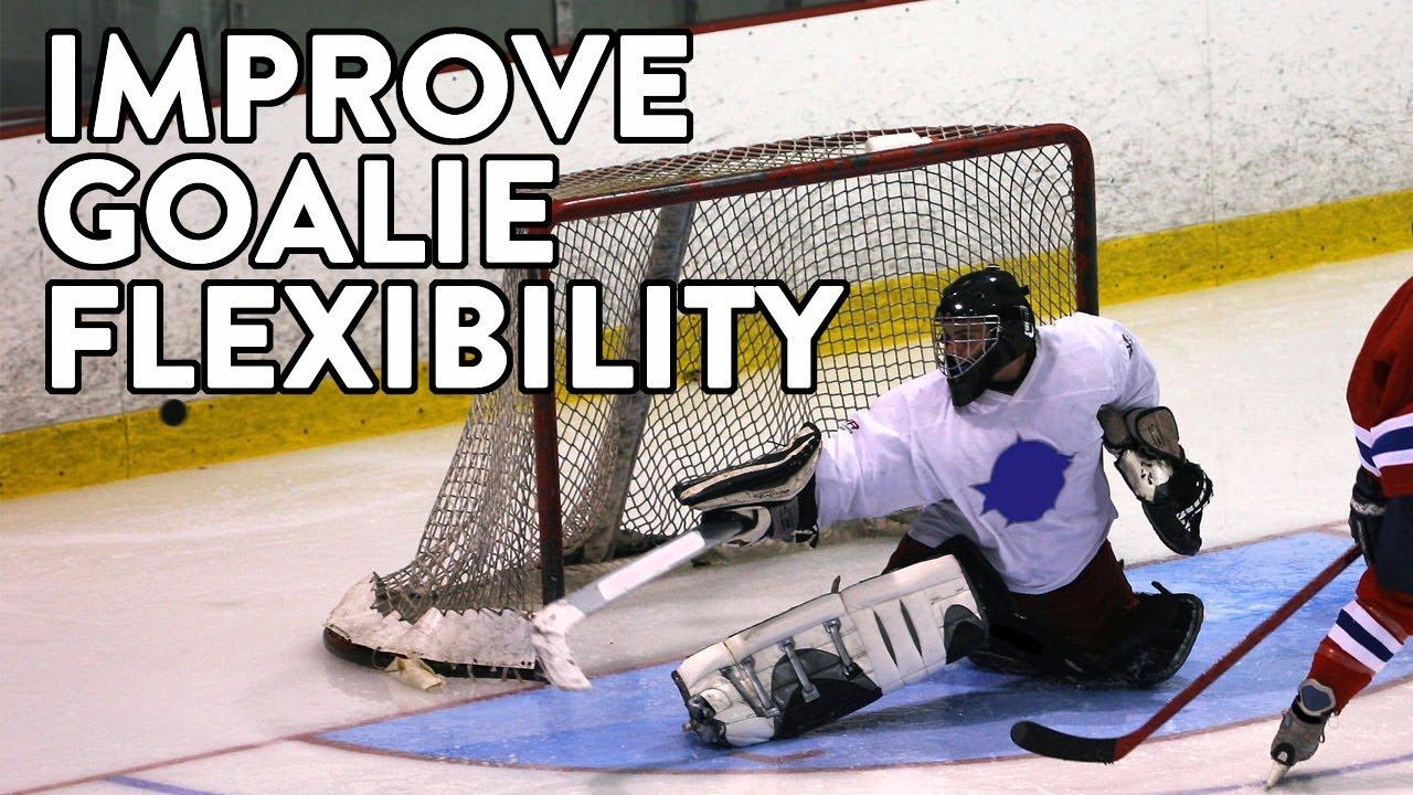 Top Three Ways For A Hockey Goalie To Improve Hip Flexibility Youtube