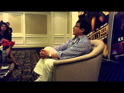 upclose with Jacky Chan Kuala Lumpur - Police Story 2013
