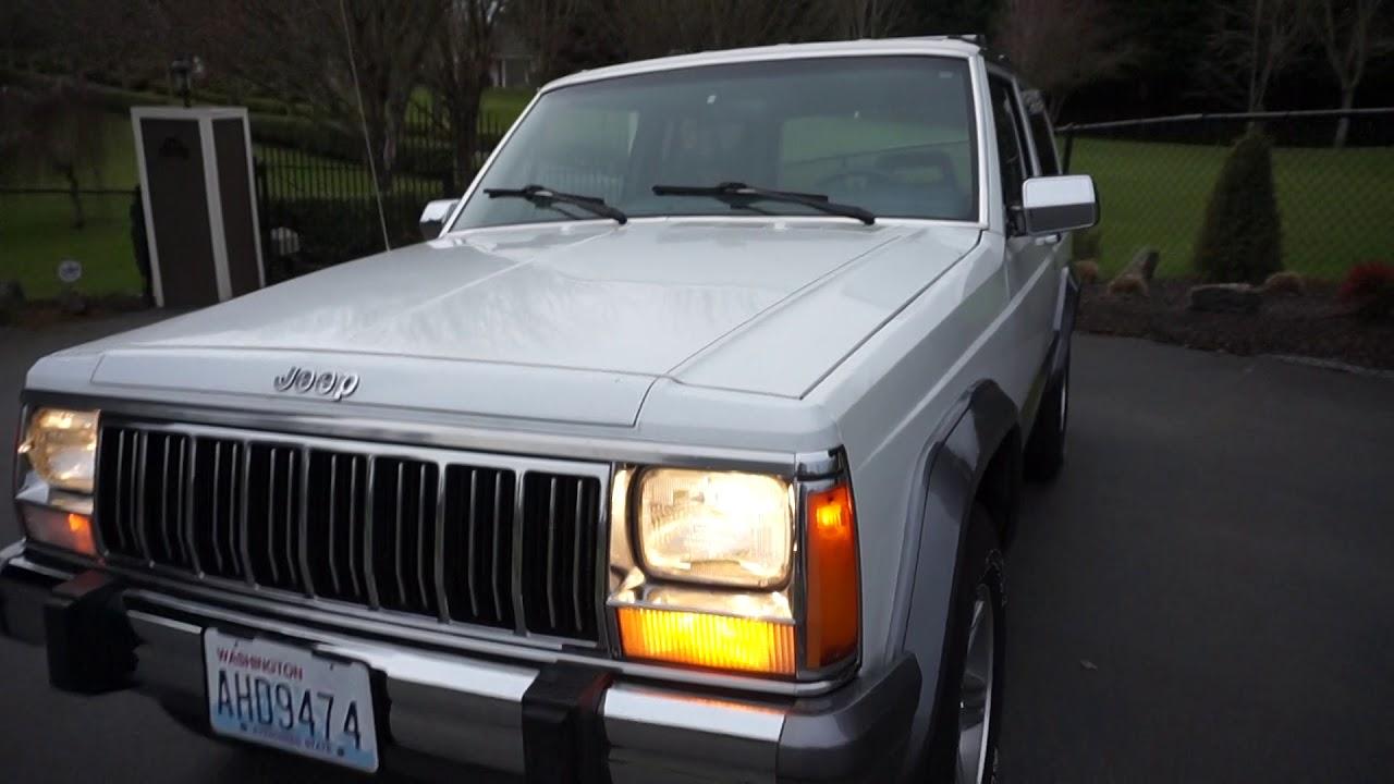 1989 jeep cherokee laredo xj 4x4 2 door [ 1280 x 720 Pixel ]