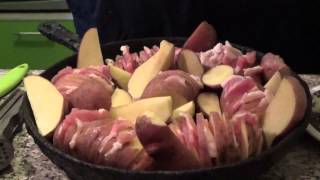 Картошка с грудинкой: эконом-рецепт