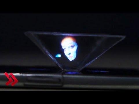 Ciptakan Hologram di Smartphone dengan Modal Rp 5.000