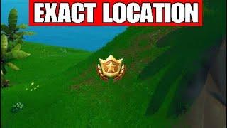 Week 4 Secret Battle Star Location - Fortnite Season X Smash and Grab Challenges