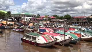 Guyana, Parika Speed Boats (HD)