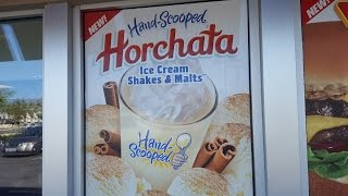 Carl's Jr Horchata Shake Review - CarBS