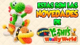 ¡Crea tu propio Yoshi! - Poochy & Yoshi's Woolly World